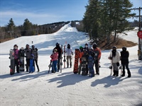 Cranmore Hosts Military Families to a Day of Spring Skiing